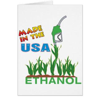 Ethanol - USA Greeting Card