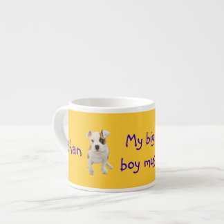 Ethan's big boy mug (personalize name)