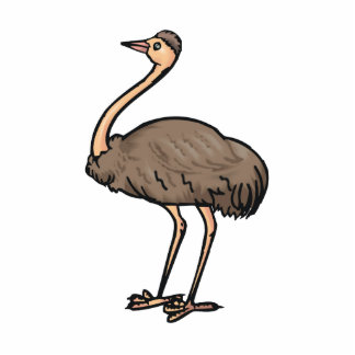Ethel Emu Cut Out