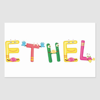 Ethel Sticker