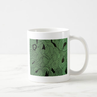 Ether Formation Green Coffee Mug
