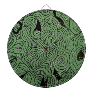 Ether Formation Green Dartboard