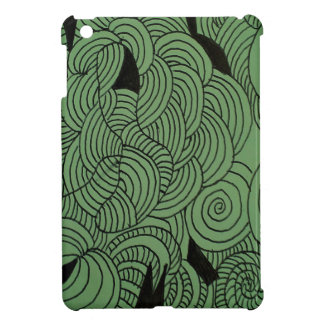 Ether Formation Green iPad Mini Case