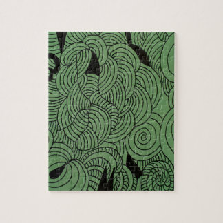 Ether Formation Green Jigsaw Puzzle