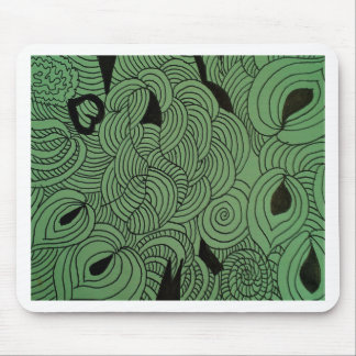 Ether Formation Green Mouse Pad