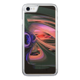 Ethereal Abstract Carved iPhone 7 Case