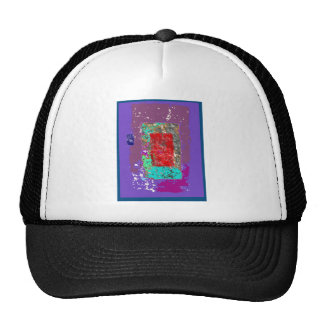 Ethereal Abstract Expressionism Design Cap