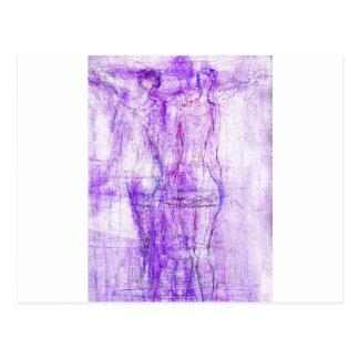 ethereal angel (1) postcard