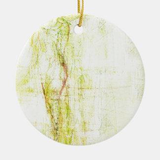ethereal angel (20) round ceramic decoration