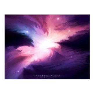 Ethereal Bloom Postcard