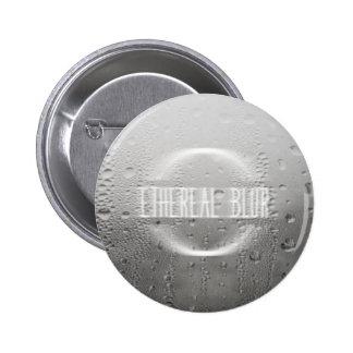 ethereal blur 6 cm round badge