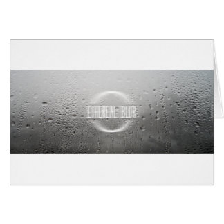 ethereal blur greeting card