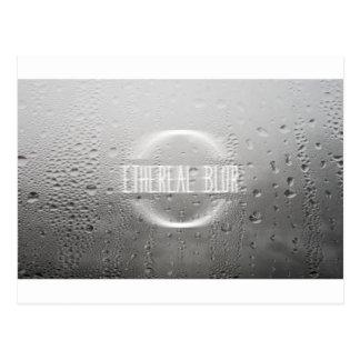 ethereal blur postcard