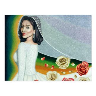 Ethereal Bride Of June Postcard
