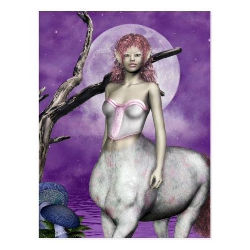 Ethereal Centaur  Postcard