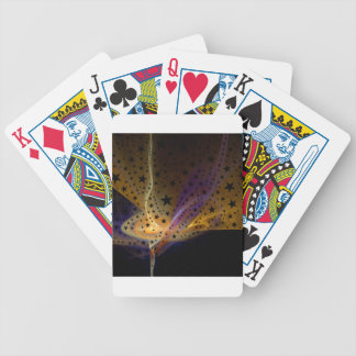 Ethereal Flame with Stars Bicycle Playing Cards