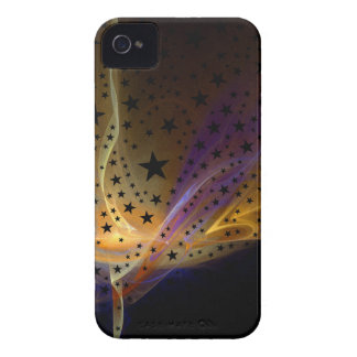 Ethereal Flame with Stars iPhone 4 Case-Mate Case
