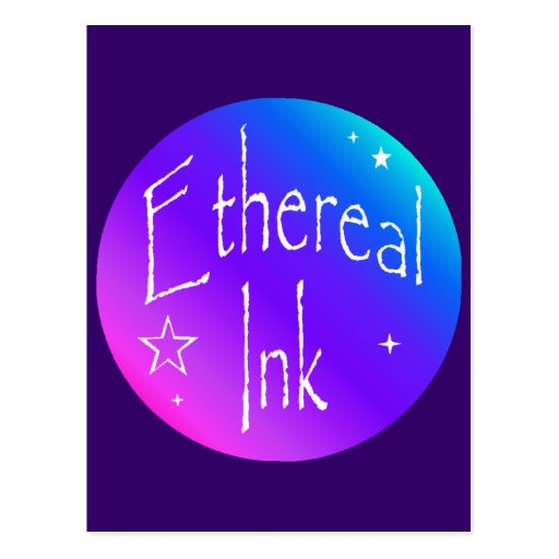 Ethereal Ink Logo Post Cards