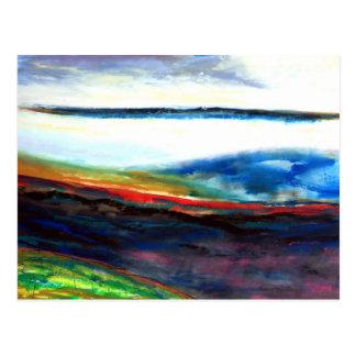 Ethereal Landscape Postcard