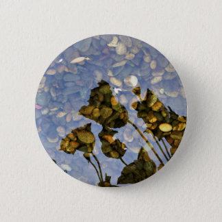Ethereal Lotus 6 Cm Round Badge