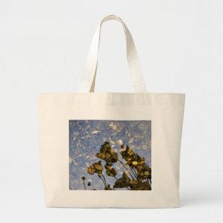 Ethereal Lotus Large Tote Bag