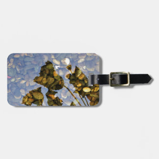 Ethereal Lotus Luggage Tag