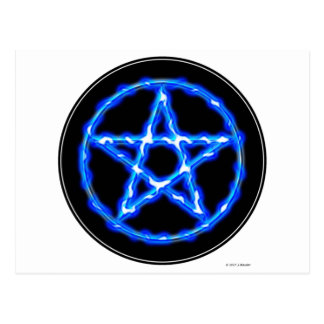 Ethereal Pentacle Postcard