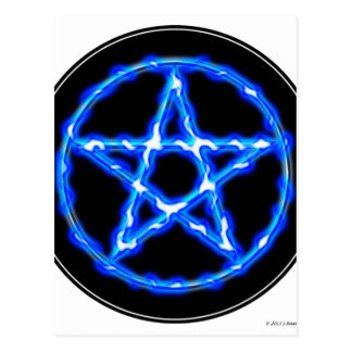 Ethereal Pentacle Postcard