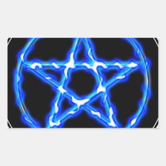 Ethereal Pentacle Rectangular Sticker