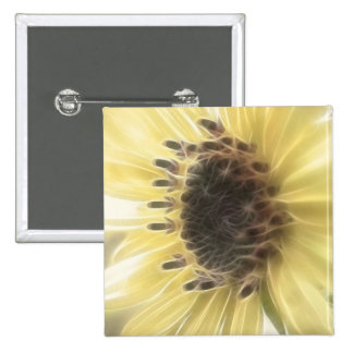Ethereal Sunflower Button