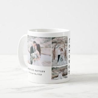 Ethereal Wedding | 4 Photo Collage Coffee Mug