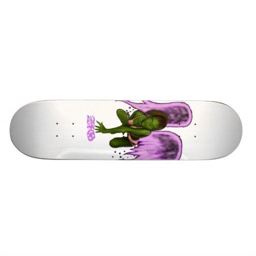Ethereal Winged Fairie Skateboard