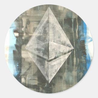 Ethereum Classic Round Sticker