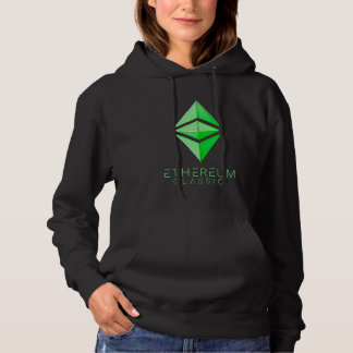 Ethereum Classic simple (green) Hoodie