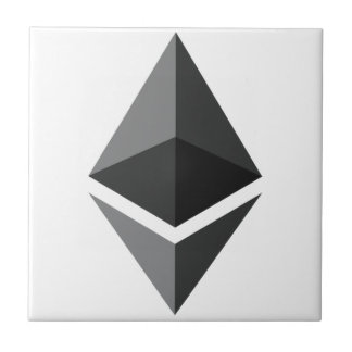 Ethereum - Cryptocurrency Super PAC Ceramic Tile