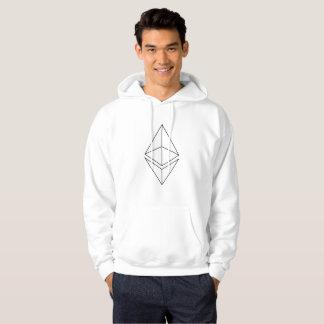 Ethereum Ether Logo Symbol Cryptocurrency Hoodie