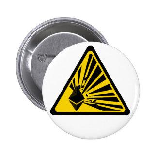 Ethereum Explosion Risk - 2¼ Inch Round Button