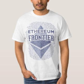 Ethereum Frontier Full grunge original blue Tshirt