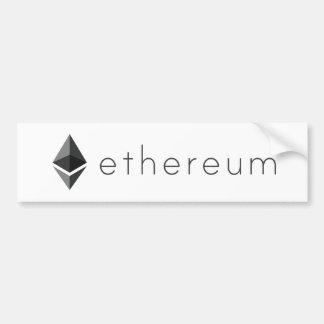 Ethereum Landscape Bumper Sticker