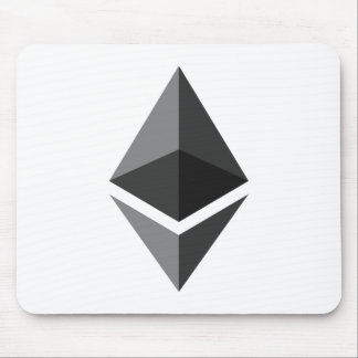 Ethereum Logo Only Mouse Pad