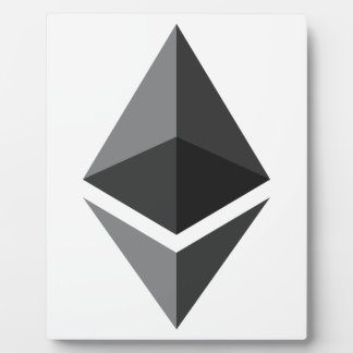 Ethereum Logo Only Plaque