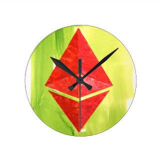 Ethereum Round Clock