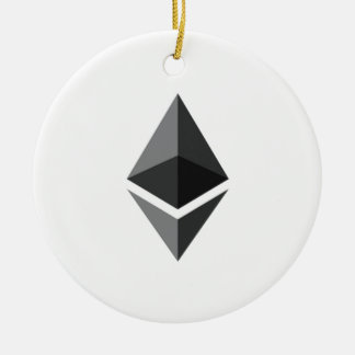 Ethereum Round Hanging Ornament