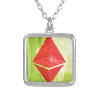 Ethereum Silver Plated Necklace