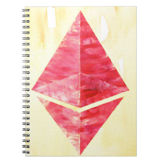 Ethereum Spiral Notebook