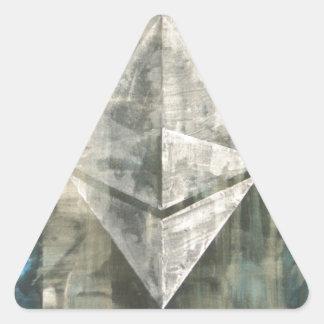 Ethereum Triangle Sticker