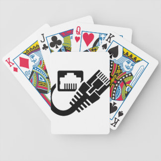Ethernet Bicycle Playing Cards