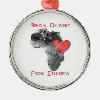 Ethiopia Adoption Ornament