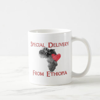 Ethiopia Adoption - Special Delivery mug (red)