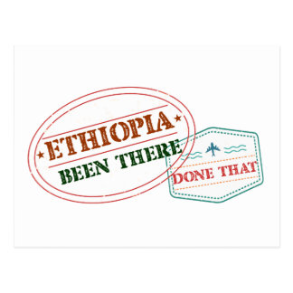 Ethiopia Been There Done That Postcard